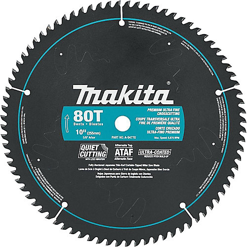 "10"" x 80T CT ATAF Mitre Saw Blade"