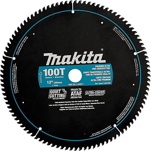 "12"" x 100T CT ATAF Mitre Saw Blade"