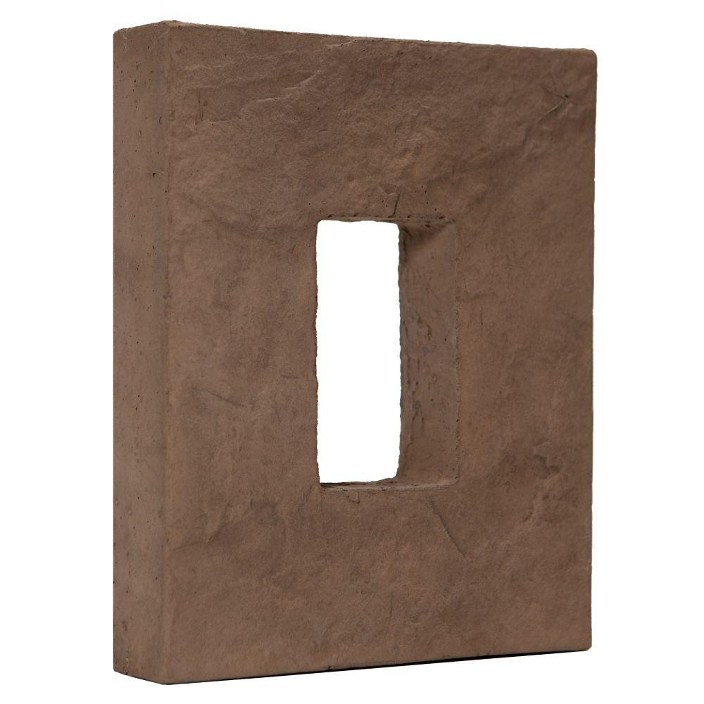 Fusion Stone Great Lakes 8 x 10-inch Rectangle Box - Cocoa