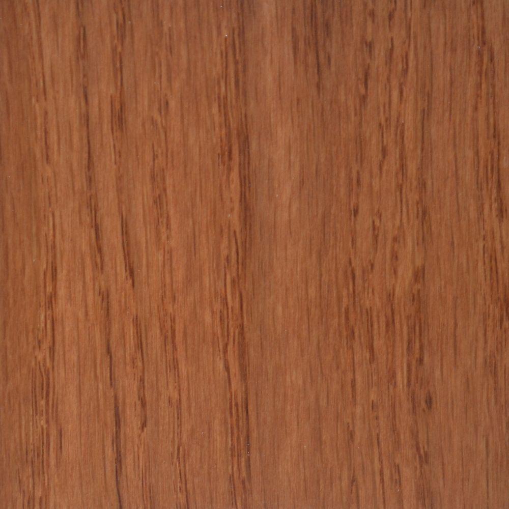 Échantillion de bois franc chêne cuivre foncé
