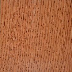 Échantillon - Plancher, bois massif, chêne cuivré