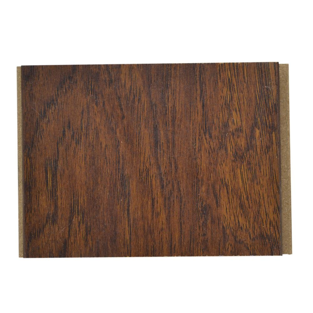 12mm Thick x 4-inch x 4-inch Hickory Laminate Flooring Sample