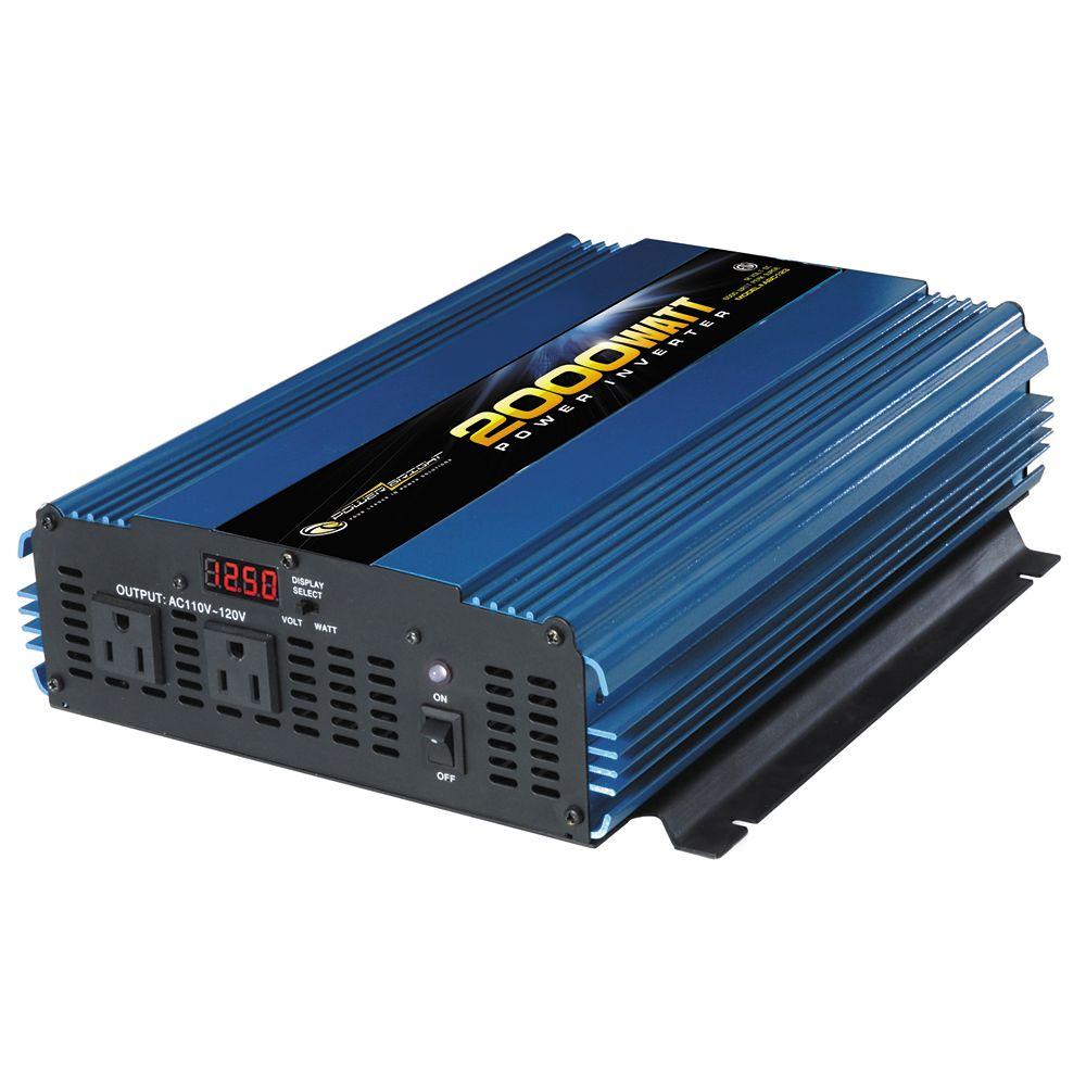 Convertisseur 12V CC PowerBright 2000 Watt