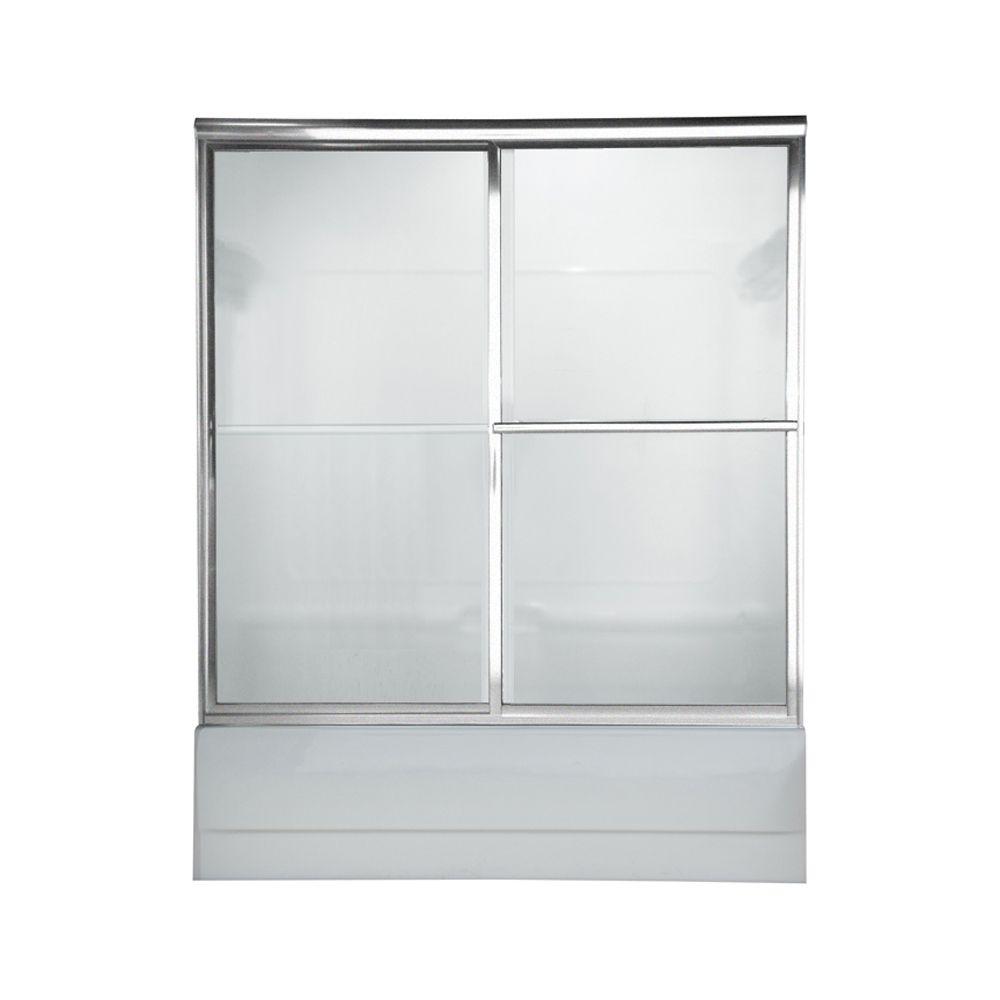 Portes de bain Prestige en verre transparent