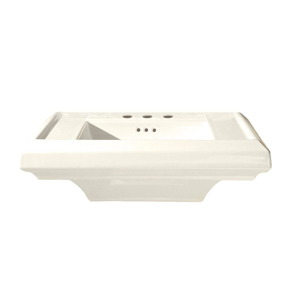 Cuvette de lavabo sur piédestal de 24 po Town Square<sup>®</sup> avec trous de robinet de 4 po de...
