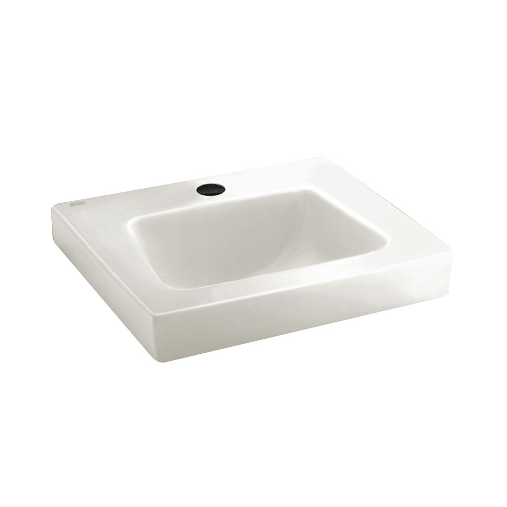 Sink In Wall : American Standard Roxalyn Wall-Mount Bathroom Sink in White The Home ...