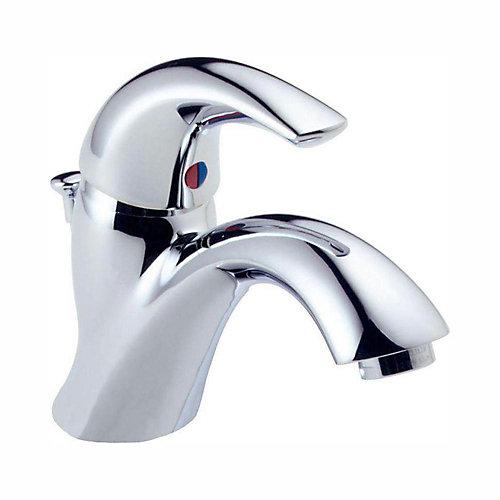 sink leak hole bathroom single shower cartridge faucet repair handle faucets delta in chrome