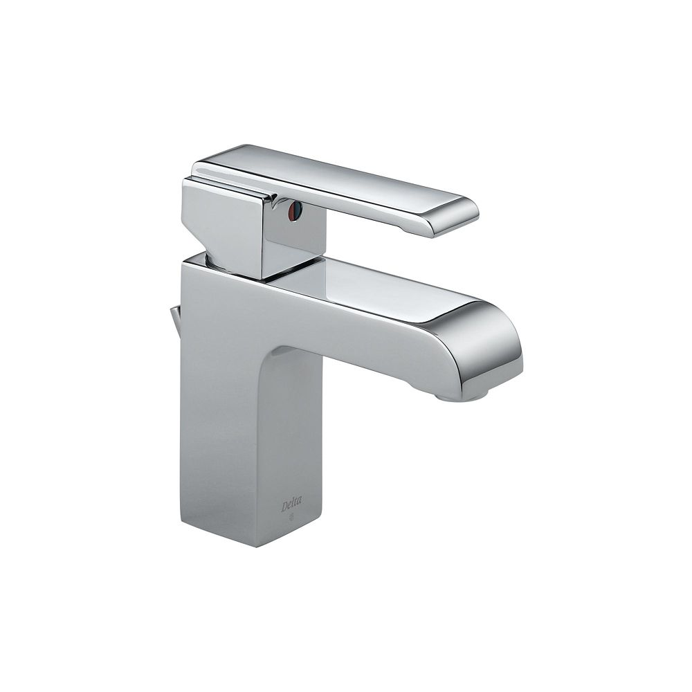 Arzo 4-inch CentreSet Single-Handle Mid-Arc Bathroom Faucet in Chrome Finish