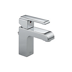 Arzo Single Hole 1-Handle Mid Arc Bathroom Faucet in Chrome with Lever Handle