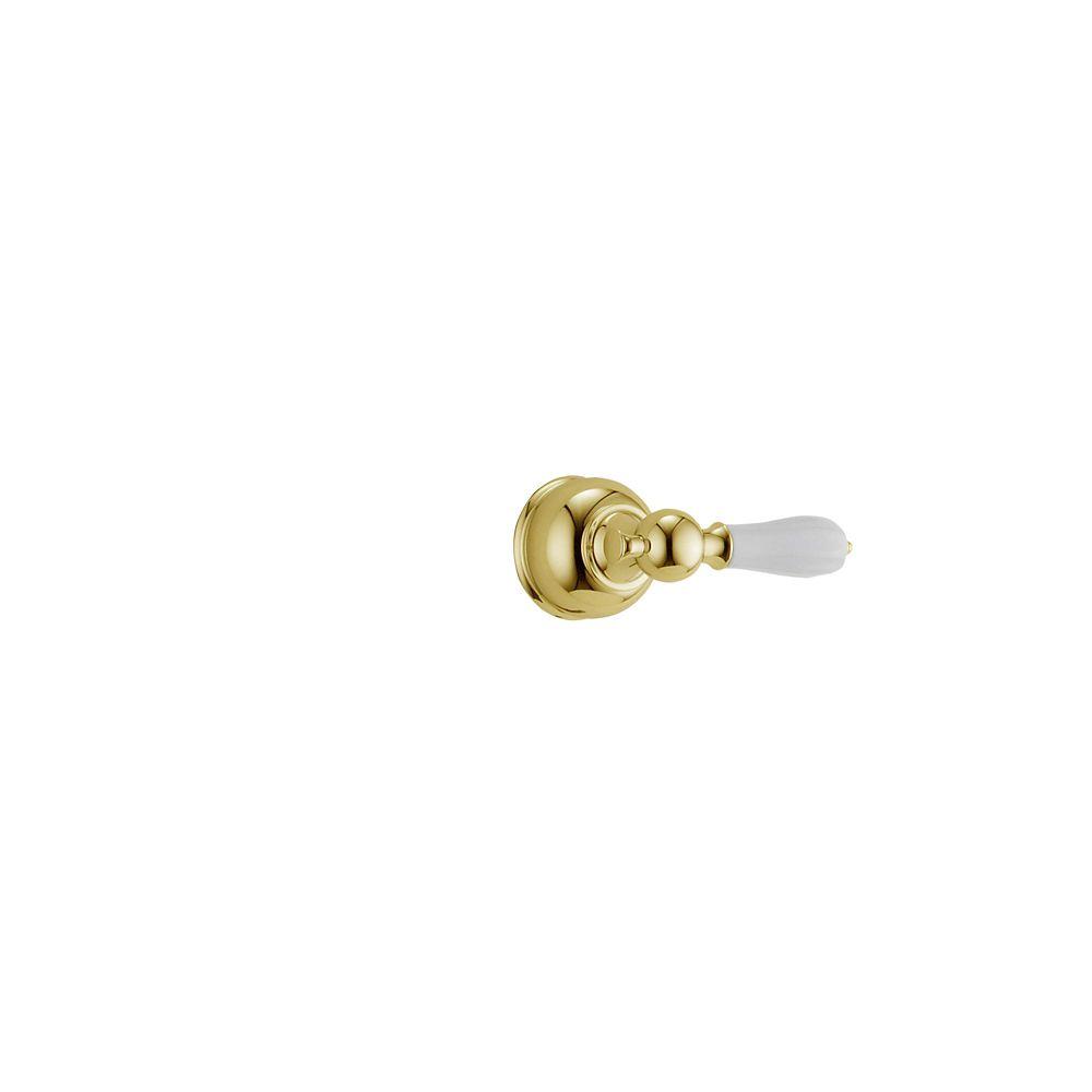 Manette levier traditionnelle en nickel nacré pour les séries de robinets de douche 13/14