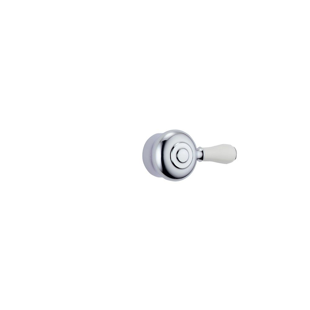 Leland Shower Faucet Lever Handle in Chrome