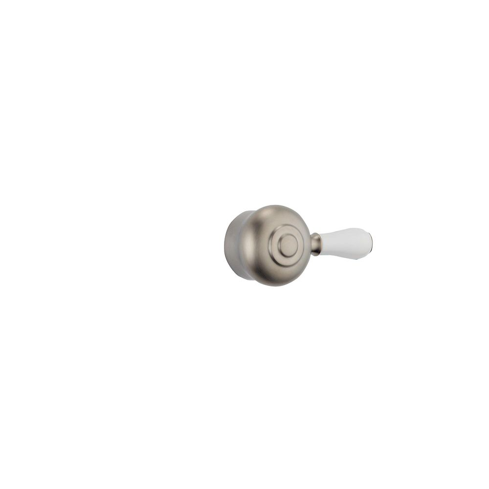 Leland Shower Faucet Lever Handle in Stainless Steel