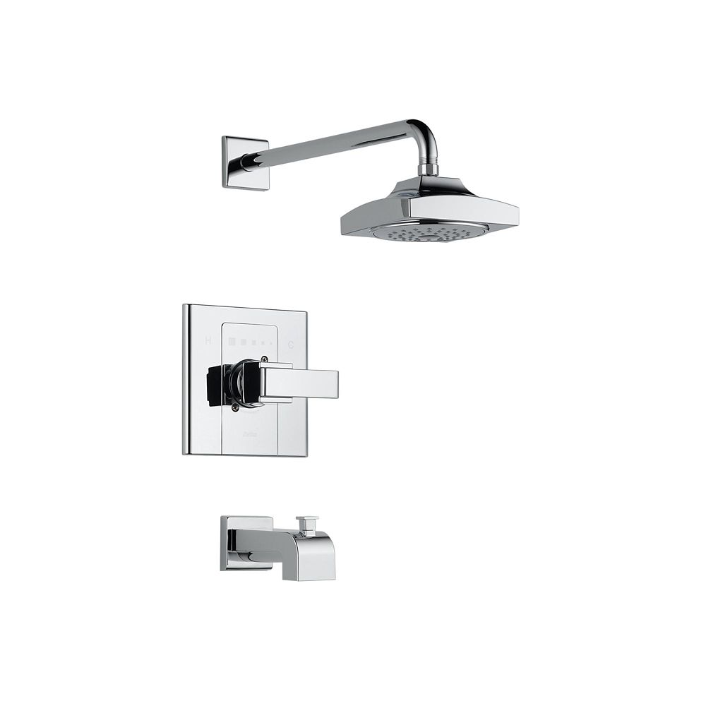 Arzo Single-Handle Tub and Shower Faucet Trim Only in Chrome
