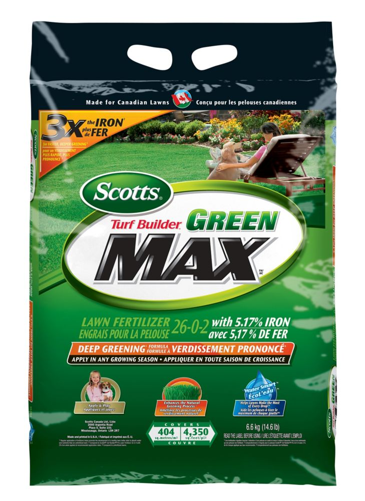 Turf Builder Green Max Lawn Fertilizer