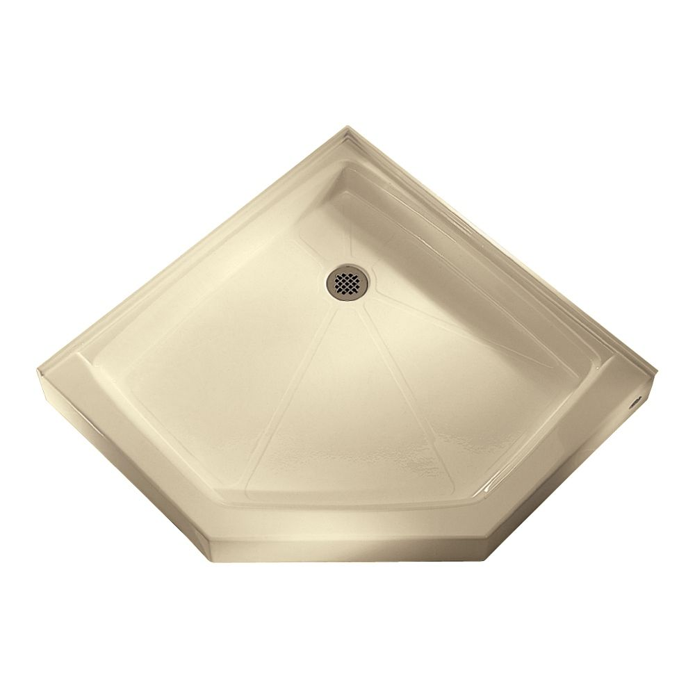 American Standard Neo Angle Shower Base Integral Water