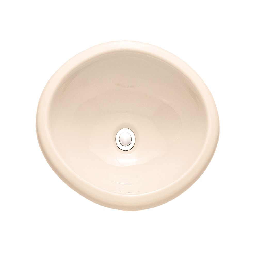 Lavabo de comptoir Sebring� sans plaque de robinet, fini os