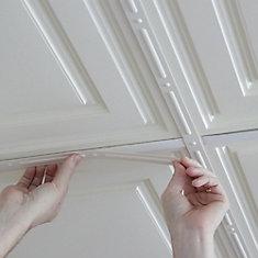 Deco-Strips Sand, Self-Adhesive Decorative Strips, 24 Inch x 1 Inch