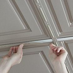 Deco-Strips Latte, Self-Adhesive Decorative Strips, 24 Inch x 1 Inch