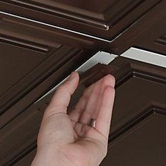 Deco-Strips Faux Bronze, Self-Adhesive Decorative Strips, 24 Inch x 1 Inch