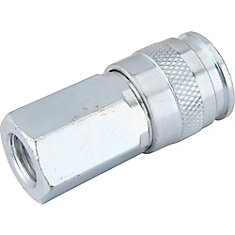 1/4 Inch x 1/4 Inch Female to Female Universal Coupler