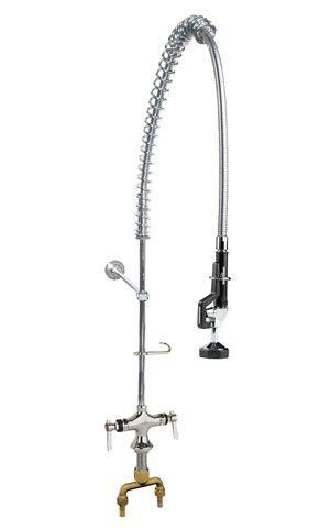Standard robinet de pré-rinçage pour  cellier double de montage sur pont (complet avec support)