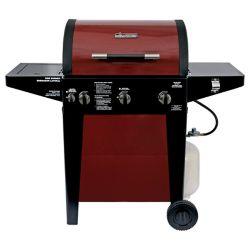 Brinkmann Professional 3-Burner Gas BBQ in Red