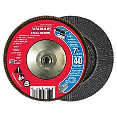 Steel Demon Flap Disc (40 Grit)