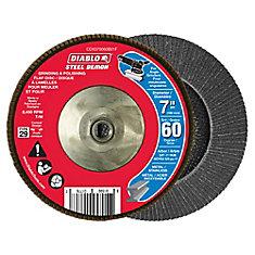 Steel Demon Flap Disc (60 Grit) 7 in.