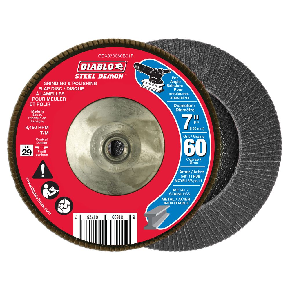Steel Demon Flap Disc (60 Grit)