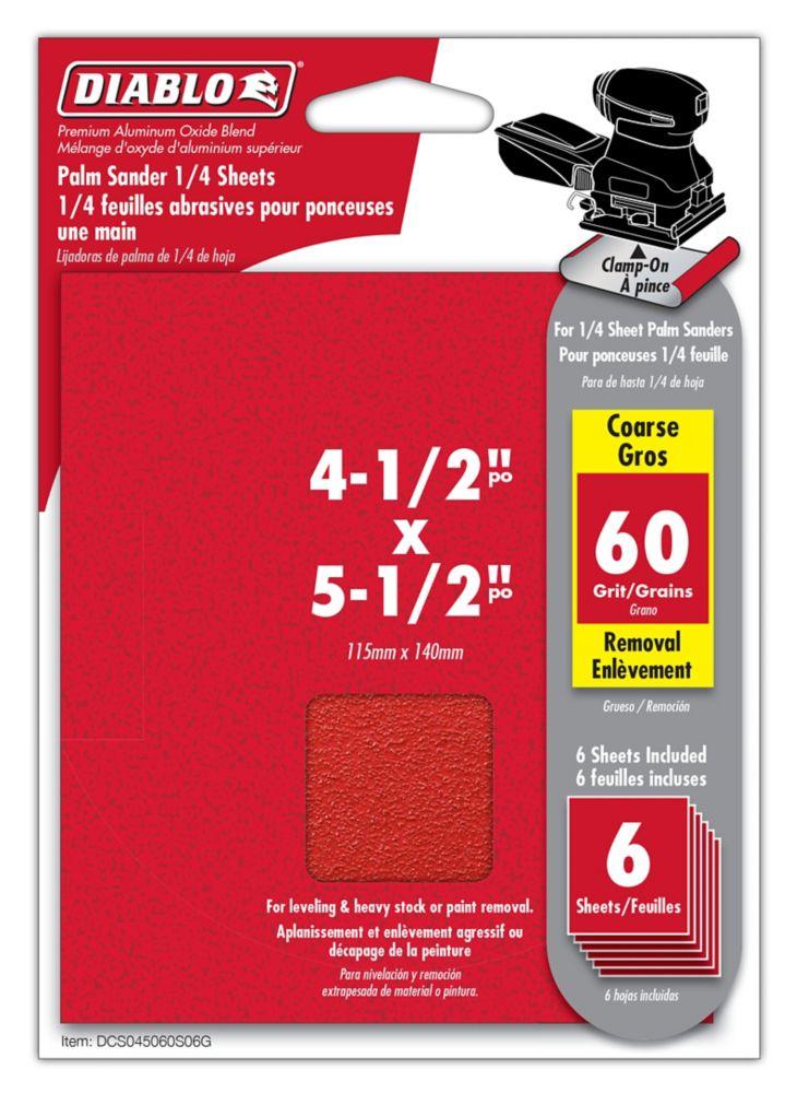 Premium Sanding Belt 4.5x5.5 Inch 60 Grit
