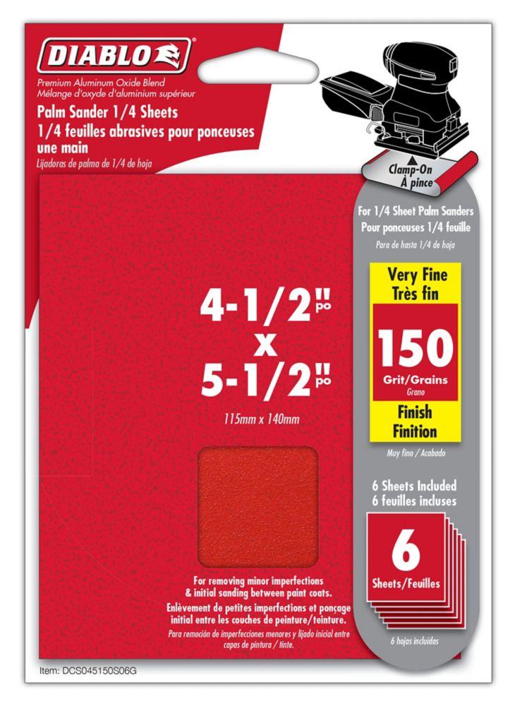 Premium Sanding Belt 4.5x5.5 Inch 150 Grit