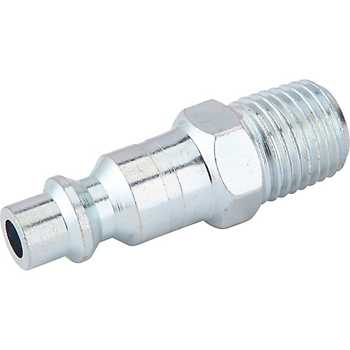 1/4 Inch x 1/4 Inch Male to Male Industrial Plug