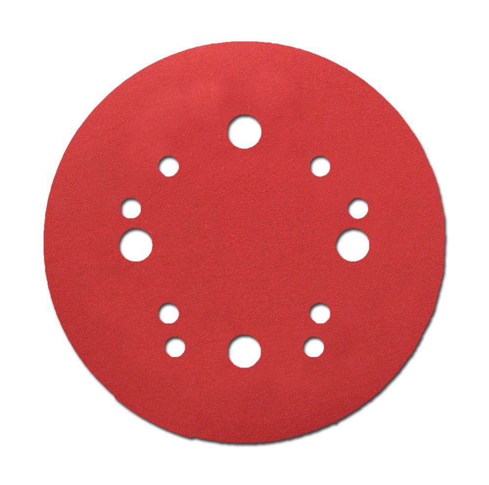 150-Grit Universal Hole Random Orbital Sanding Disc 15-Pack Diablo DCD050150H15G 5 in