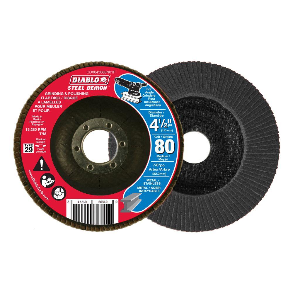 Steel Demon Flap Disc (80 Grit)