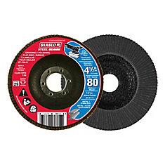 Steel Demon Flap Disc (80 Grit) 4-1/2 in.