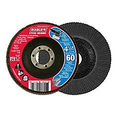 Steel Demon Flap Disc (60 Grit) 4-1/2 in.