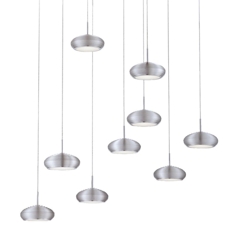 Luminaire Suspendue à 9 Lumières, Collection Venti