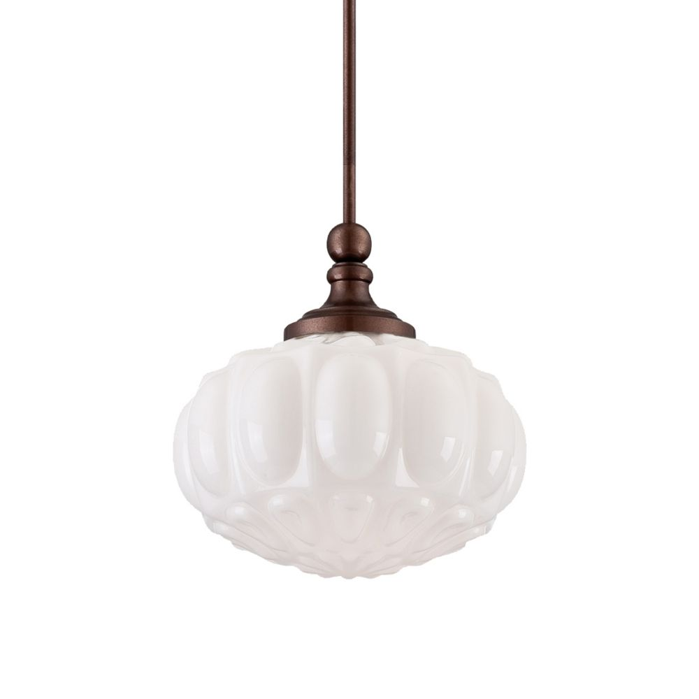 Muso Collection 1 Light Oil Rubbed Bronze Pendant