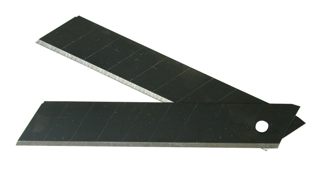 Heavy-Duty Snap-Off Black Blades