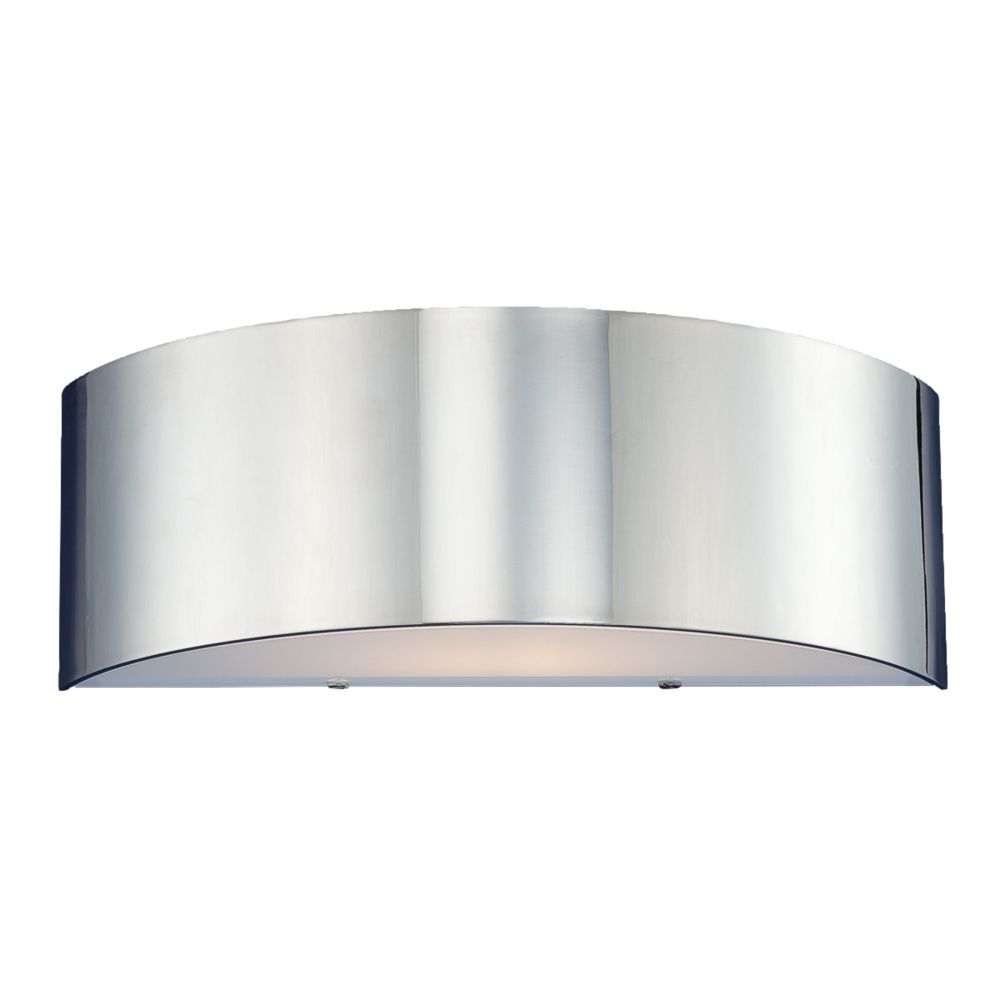 Dervish Collection 1-Light Chrome Wall Sconce 20373-047 Canada Discount