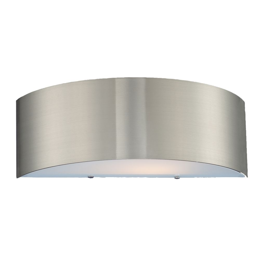 Dervish Collection 1-Light Satin Nickel Wall Sconce 20373-030 Canada Discount