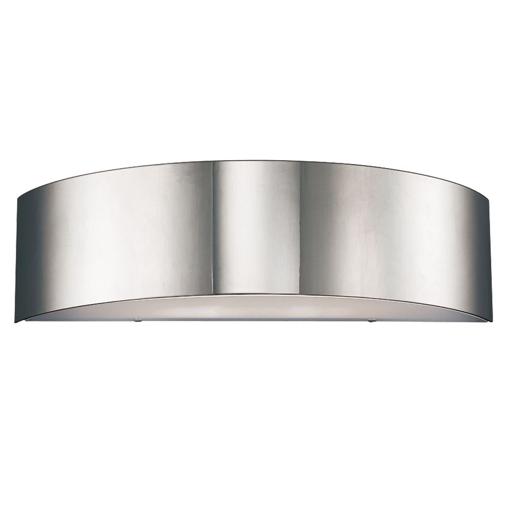 Dervish Collection 2-Light Chrome Wall Sconce