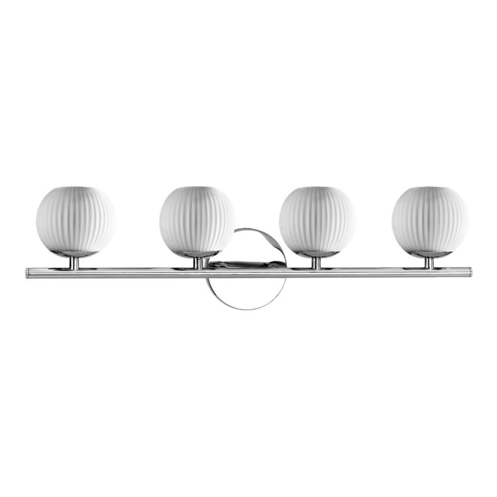 Orvino Collection 4-Light Chrome Bath Bar