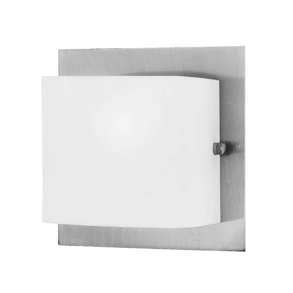 Tech Lighting Home Depot: Eurofase Talo Collection 1-Light Satin Nickel Wall Sconce