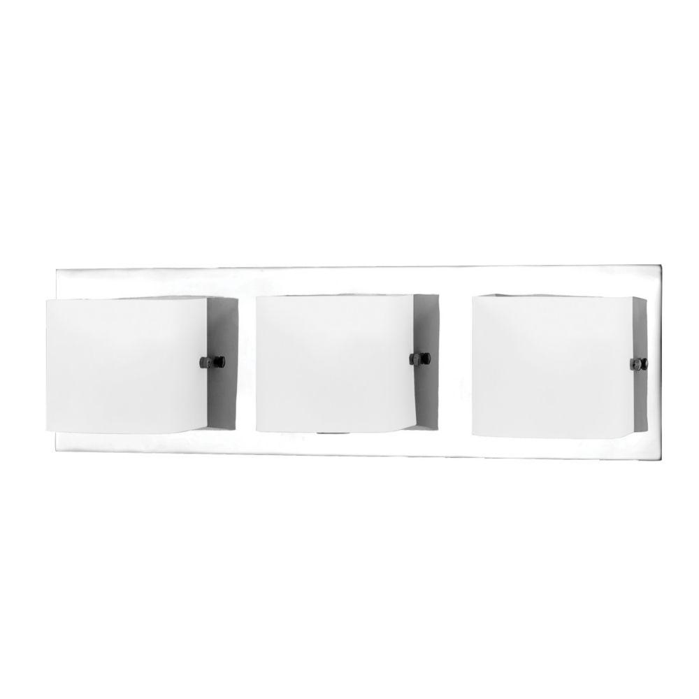 Eurofase Talo Collection 3 Light Chrome Bath Bar The Home Depot Canada