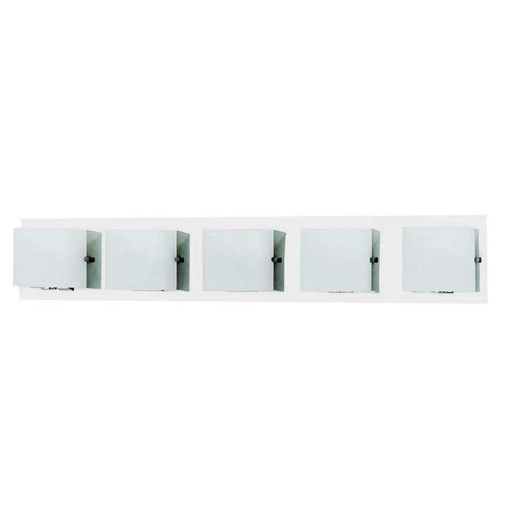 Talo Collection 5-Light Chrome Bath Bar
