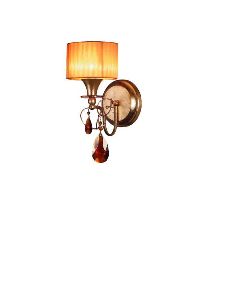 Tempest Collection 1-Light Gold Leaf Wall Sconce 17505-017 in Canada
