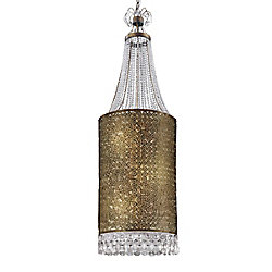 Eurofase Caramel Collection 12-Light Antique Bronze Large Pendant