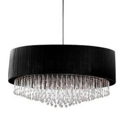 Eurofase Penchant Collection 6-Light Black Large Pendant