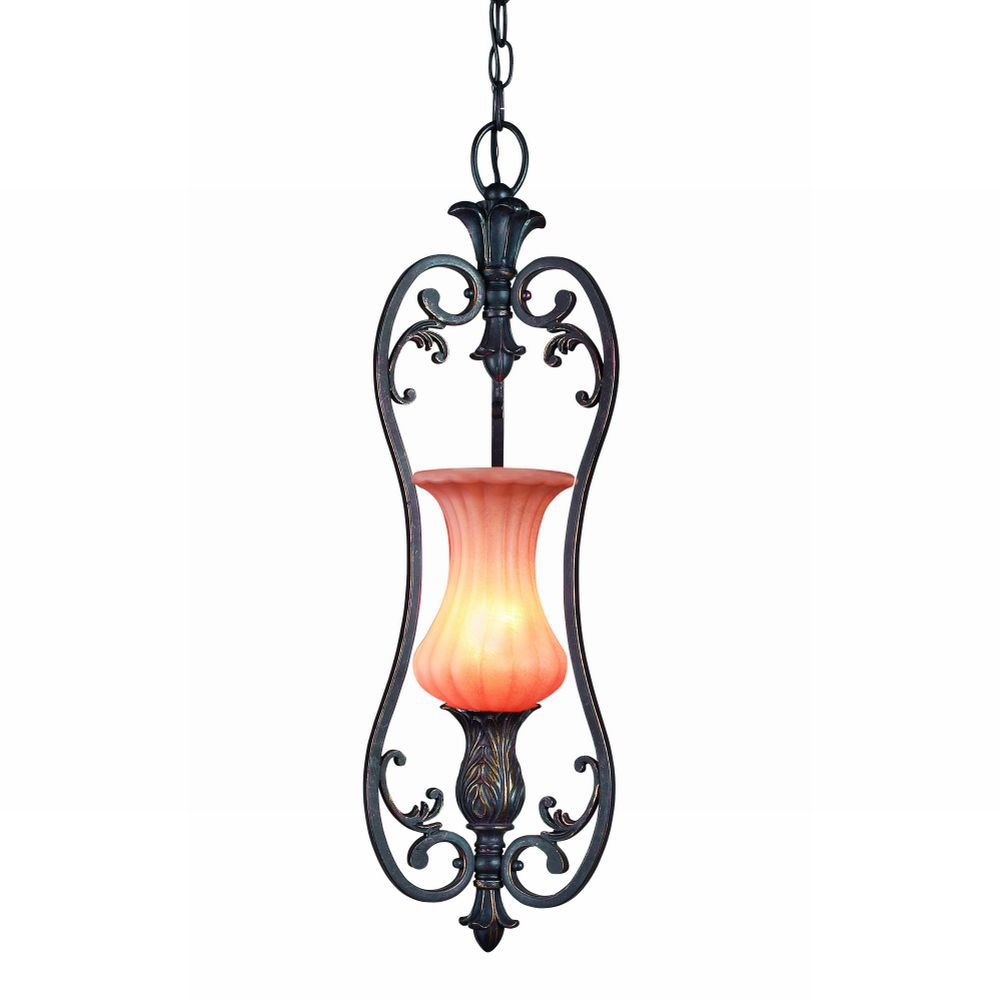 Richtree Collection 1-Light Aged Bronze Mini Pendant 17496-018 Canada Discount